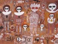 pinturas ruprestres wandjinas